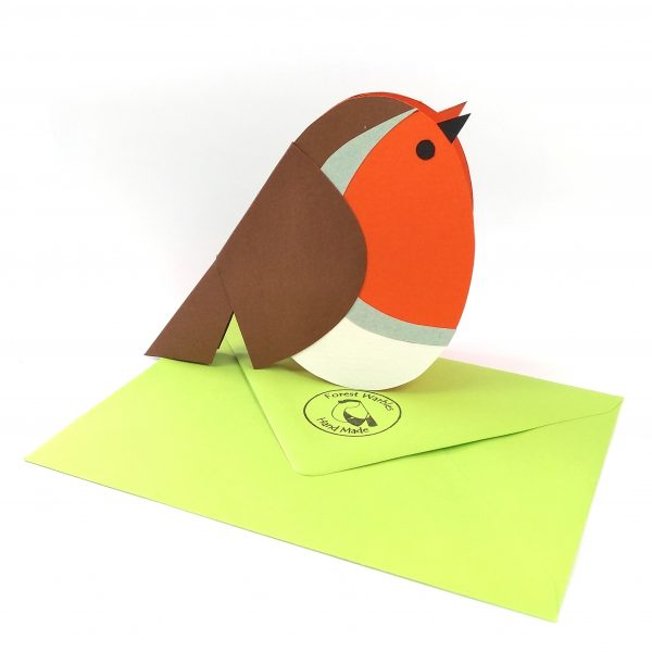 Greeting card Robin