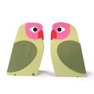 Adele Pound Mini Lovebirds Green