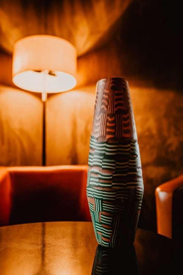 Vetro mosaico Vase by Scott Benefield