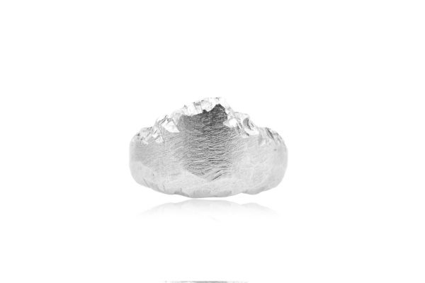 Fjordland Silver Ring by Cameron & Breen