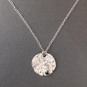 Elements Pendant by Abbie Dixon in silver and 9ct gold
