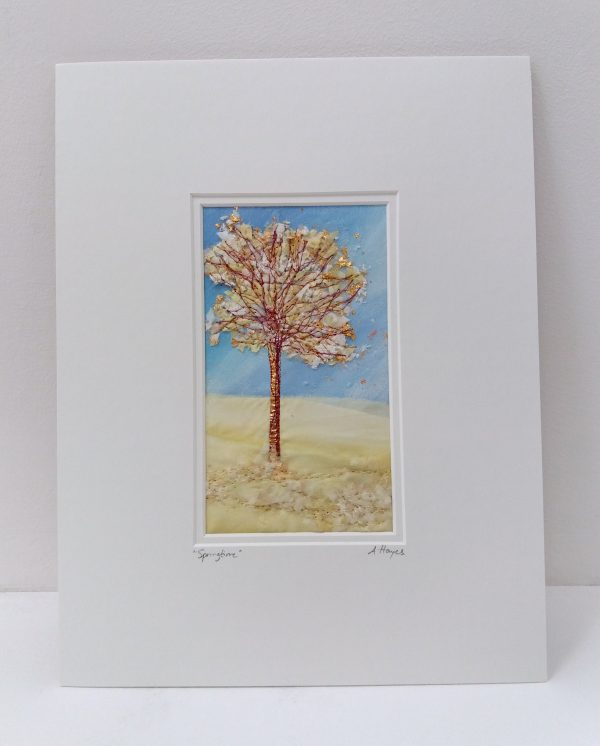 Andrea Hayes Textile Art Springtime