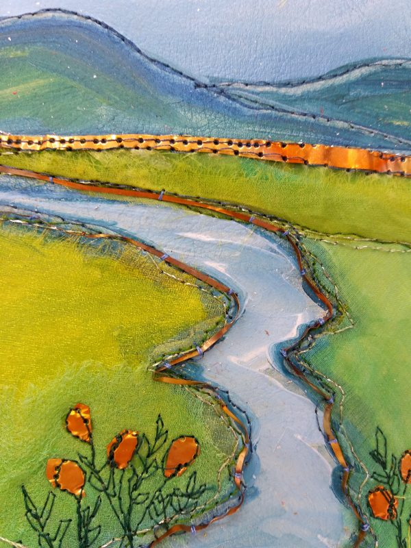 Andrea Hayes textile art stream