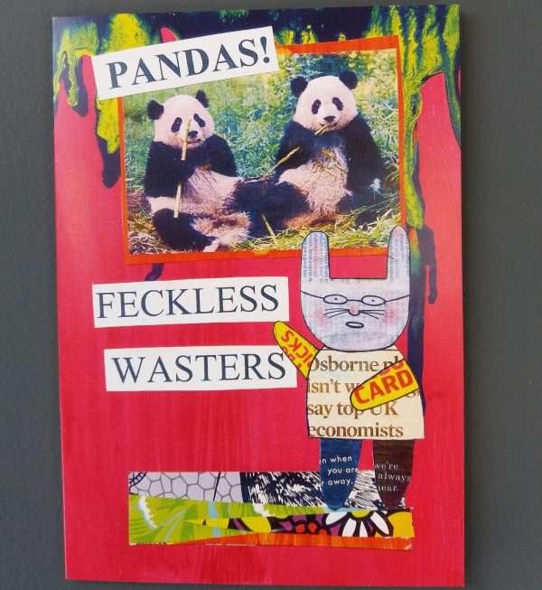 Mr Papers Pandas Card