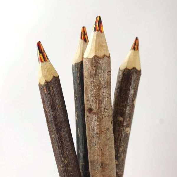 Rainbow Twig Pencil