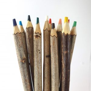 Wooden Colouring Pencils