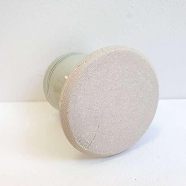 Handthrown ceramic eggcup
