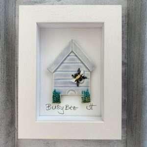 Handmade ceramic 'Beehive' ceramic tile frame
