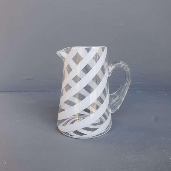 Small glass jug