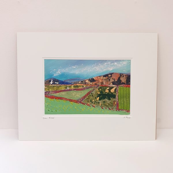 Green Fields Textile Picture