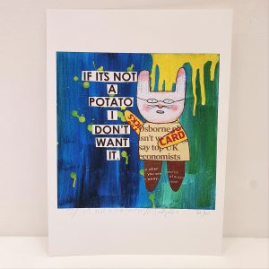 Mr Papers Potato A4 Print