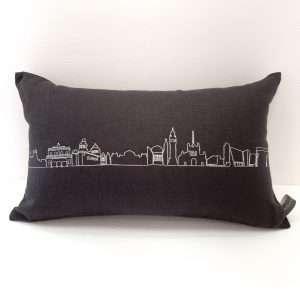 Long Belfast Skyline Cushion