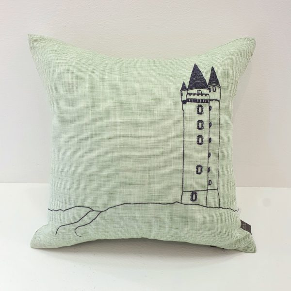 Small Scrabo Tower Cushion
