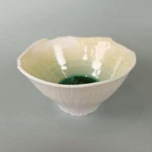 Green Crystalline Bowl