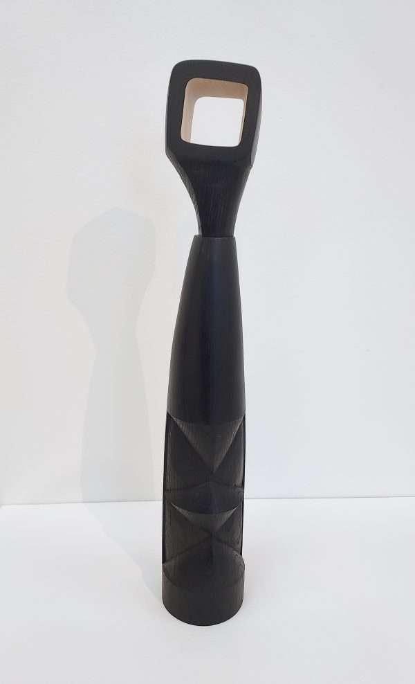 Ebonised ash sculpture